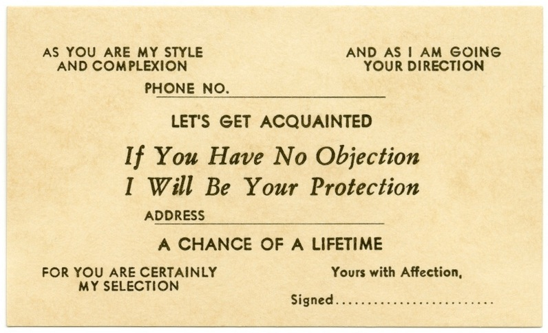 The 19th century escort cards with pick up lines you definitely flirt3 colourmoves