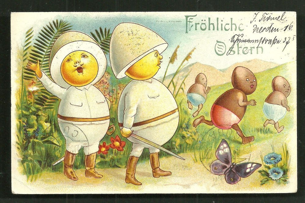 Greetings from the colonies postcards of a shameful past happy easter from the german colonies m4hsunfo