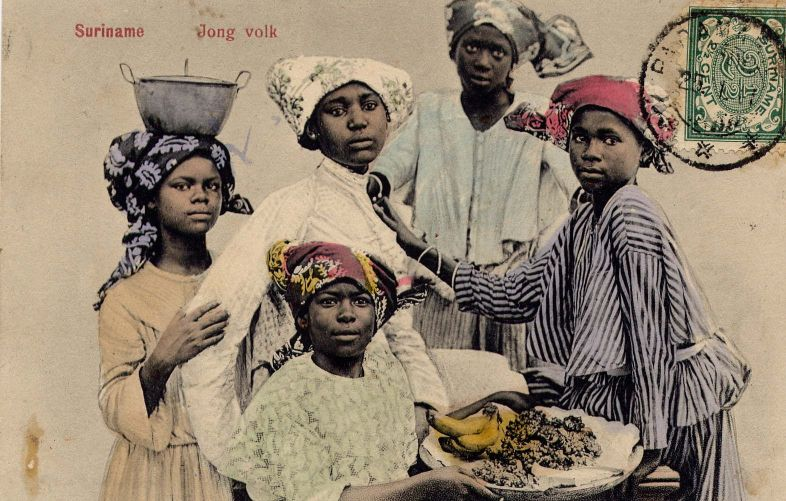 """Young folk"" from Dutch Suriname"