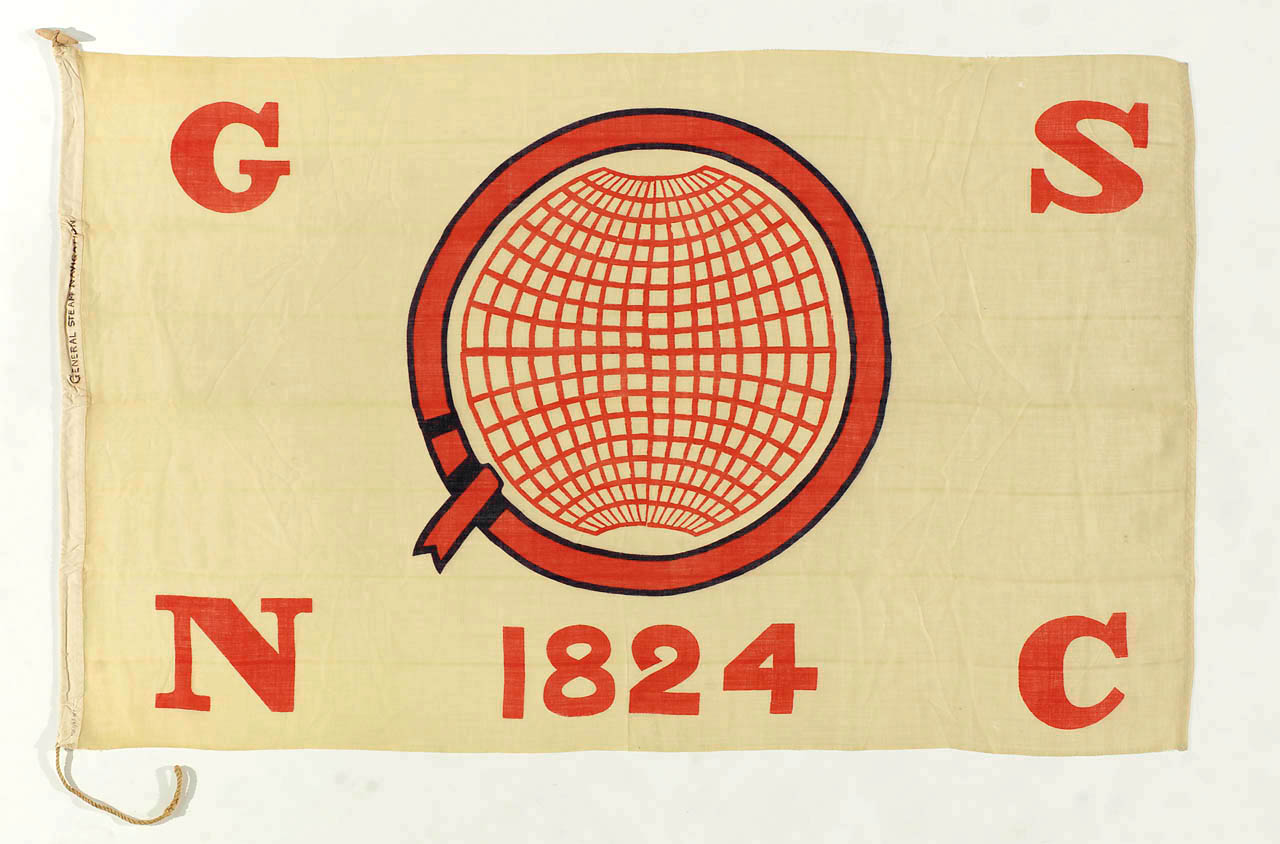 Image of the General Steam Navigation Flag.
