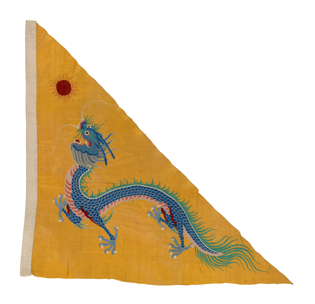 Image of the Chinese Imperial Naval Ensign Flag.