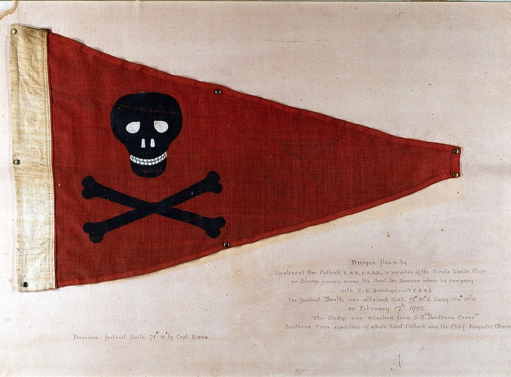 Image of the Burgee of the Private Yacht Club Flag.