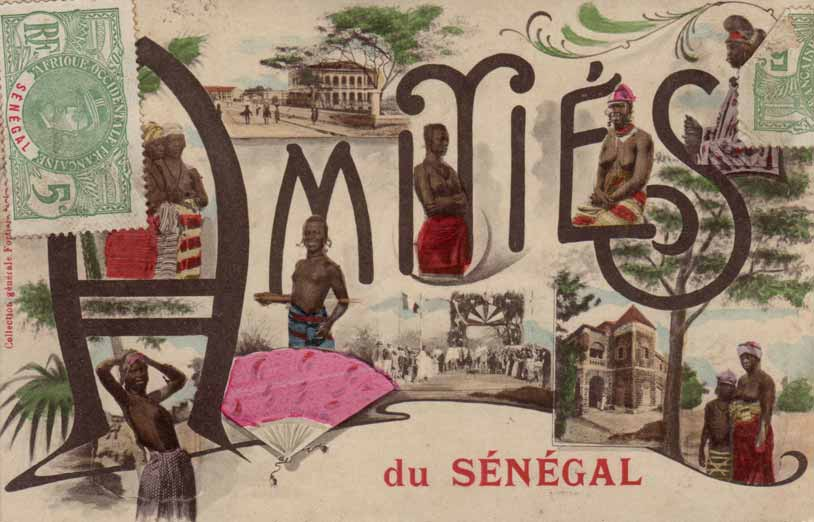 French post cards displaying sex