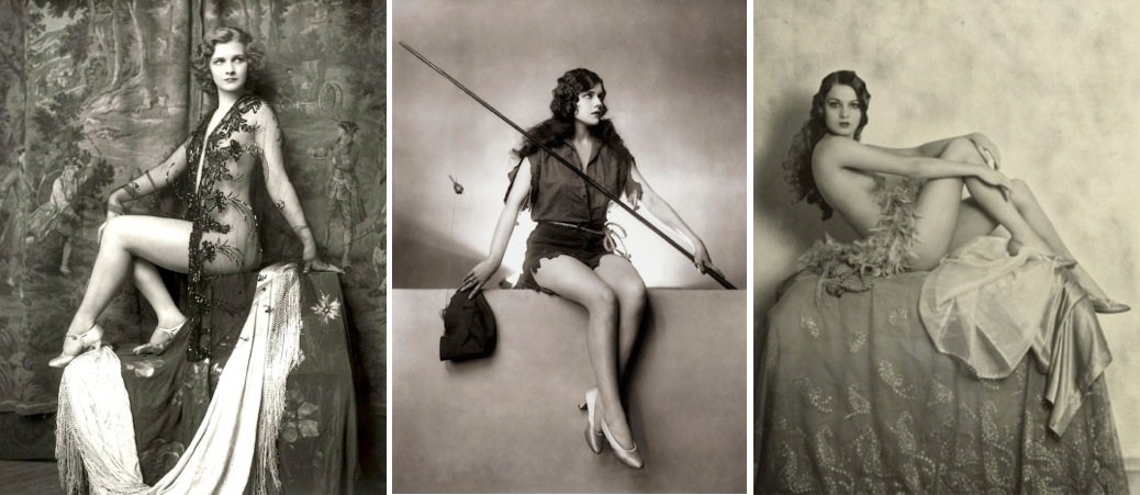 When looking at black and white photographs of women considered glamorous in the 1920s and early 20th century i often find it difficult to relate to their