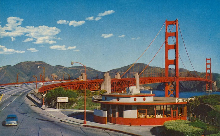 A compendium of vintage postcards from the great american for American cuisine in san francisco