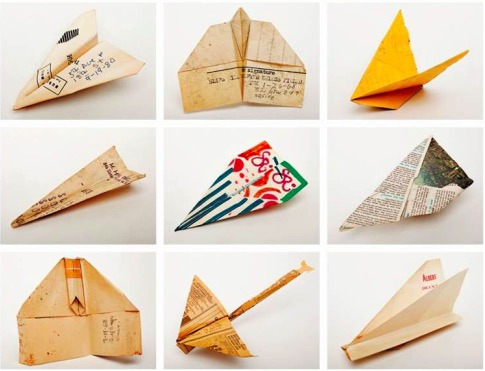 One Guy spent the 1960s & 70s Collecting Paper Airplanes off the Streets of NYC