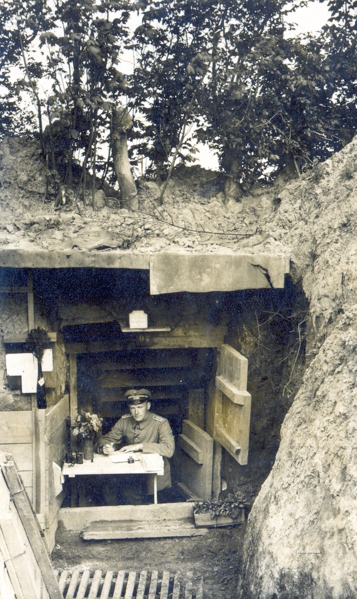 German dugout excavations: dugout types, modern finds 93
