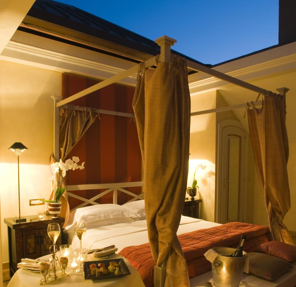 Room With Nothing In It: Oh Nothing, Just Sleeping Under The Stars In A Hotel Room