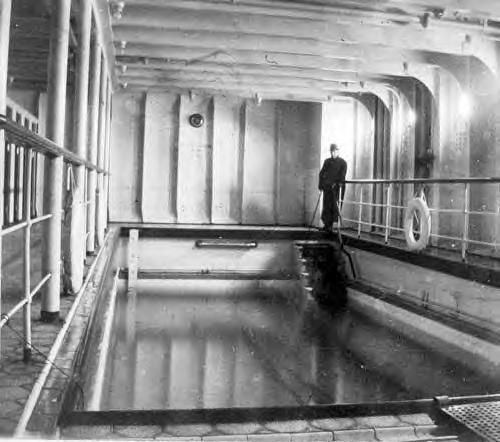 Inside the replica of the titanic set to sail in 2018 - Did the titanic have swimming pools ...