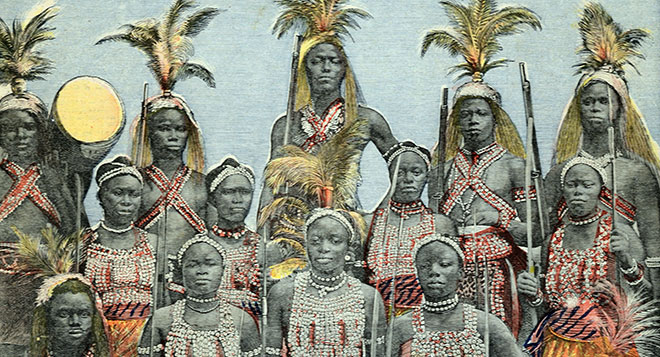 Image result for dahomey amazons