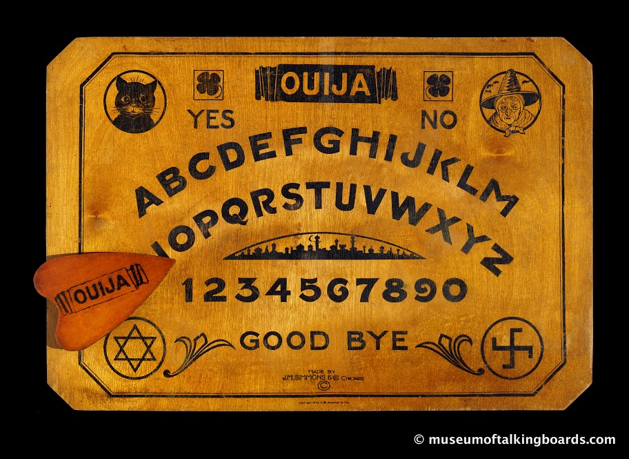 Ouija-J.M. Simmons, Chicago, IL c. 1920 - c. 1945