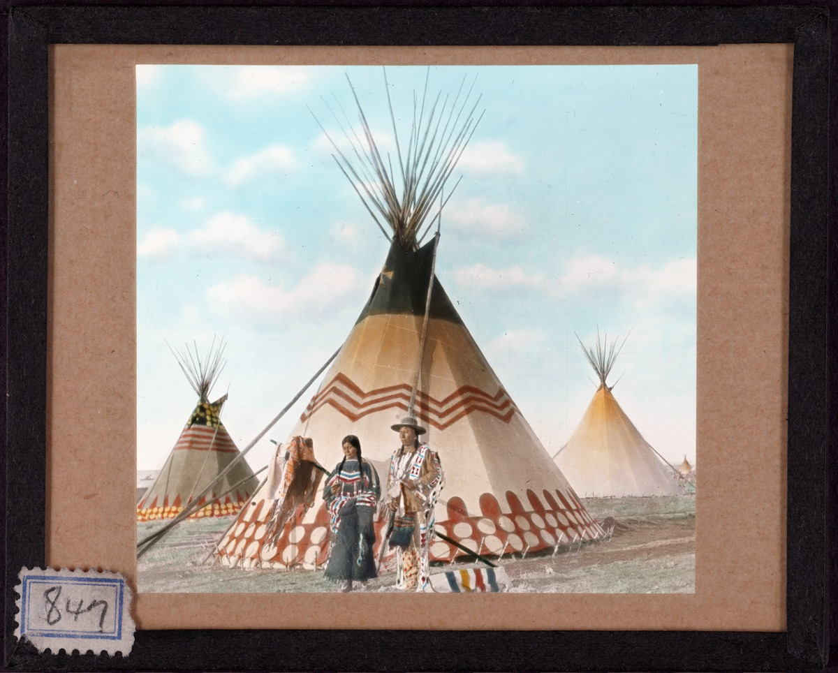 A compendium of native american tipi decoration circa 1900 for American indian design and decoration