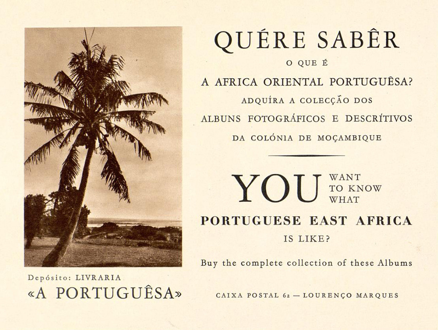 A 1920s Brochure to Colonial East Africa – Portuguese Birthday Cards