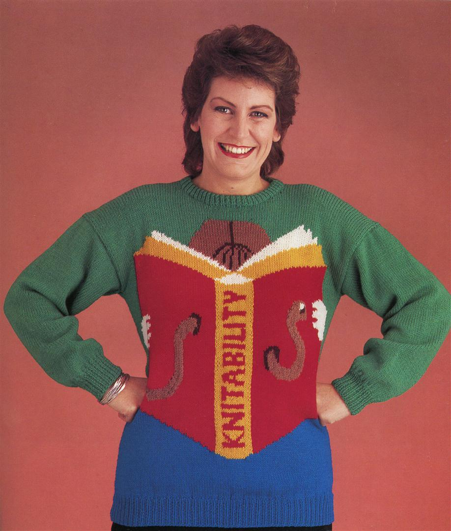 Winter is Coming, so please enjoy this Insane 1980s Book of Knitted ...