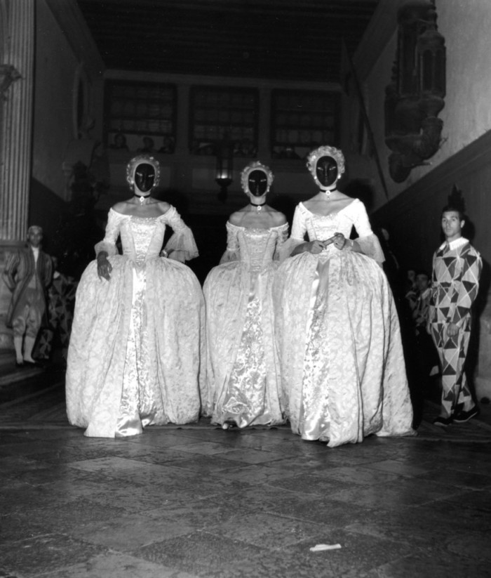 VENICE BAL BESTEIGUI 3 SEPTEMBER 1951