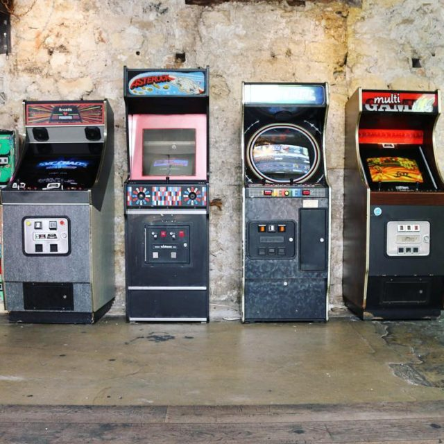 Who wants a game? Find these classic arcade machines athellip