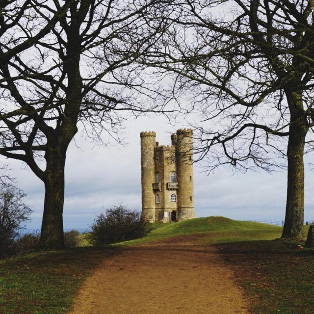 Fancy finding Rapunzels Tower on our morning walk cotswolds towerhellip