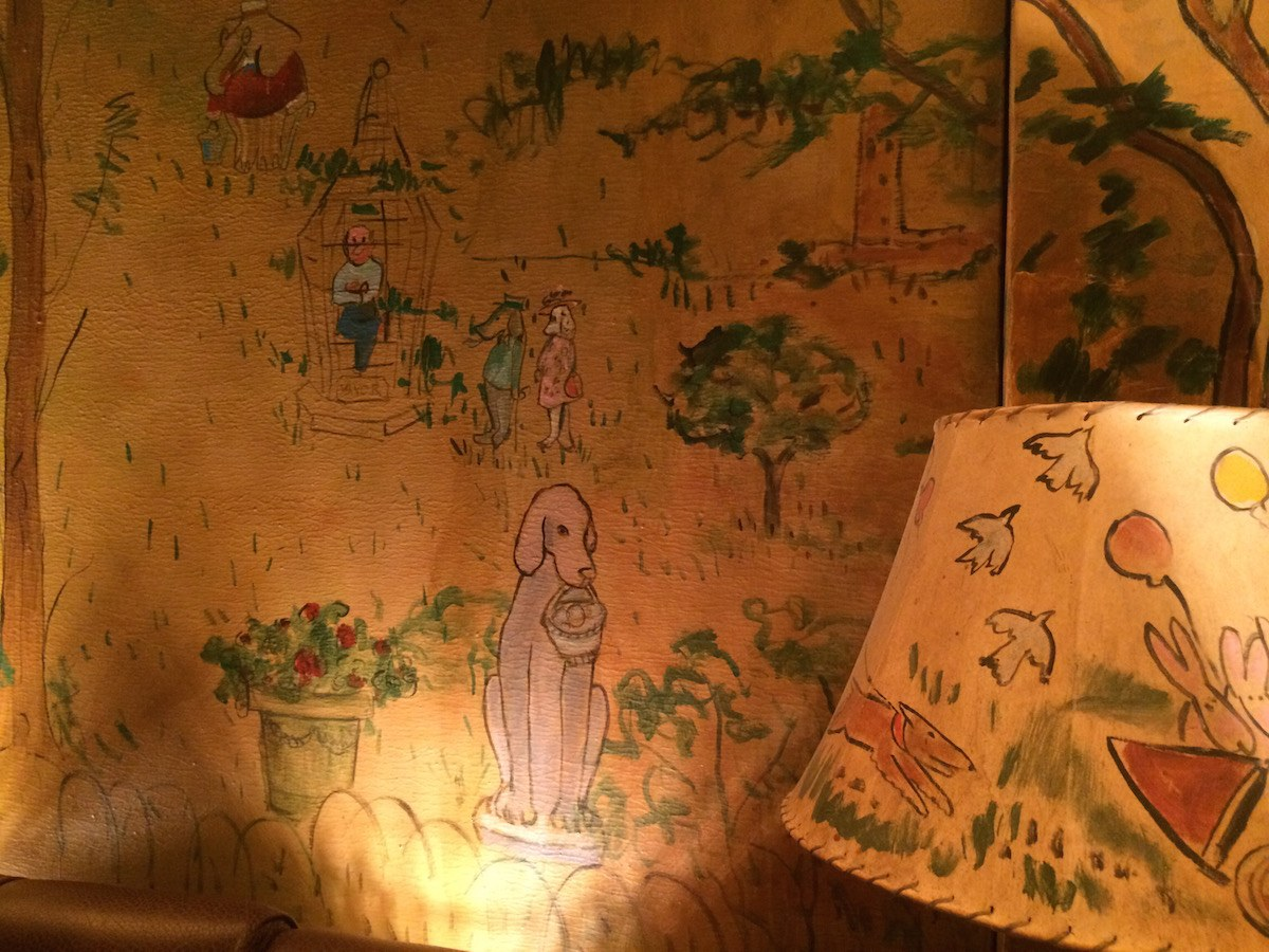 Bar murals of new york city for Bemelmans bar mural