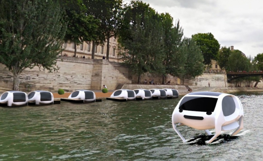 flying water taxis are coming to paris this summer. Black Bedroom Furniture Sets. Home Design Ideas