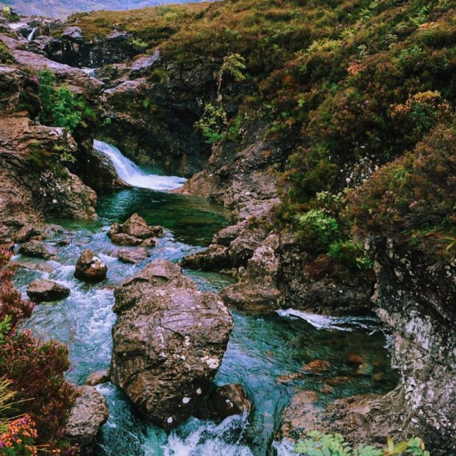 Where the fairies play Scotland Fairypools isleofskye
