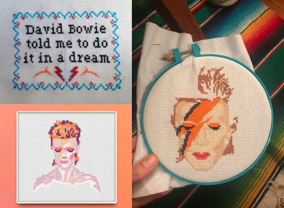 Not Your Grandmas Cross Stitch