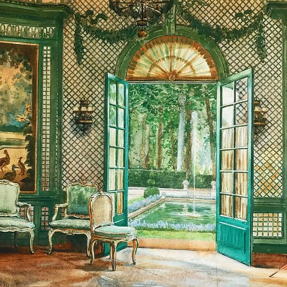 The american marie antoinette of pre war paris for Ann wolf interior decoration