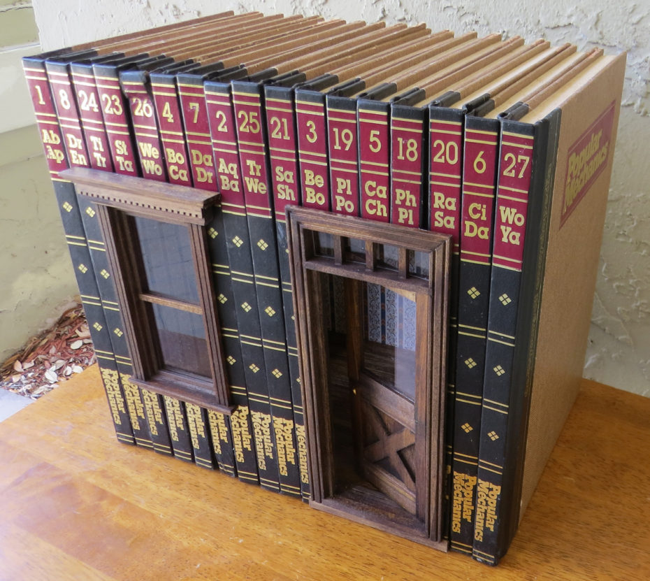 Stop Everything And Check Out These Miniature Book Houses