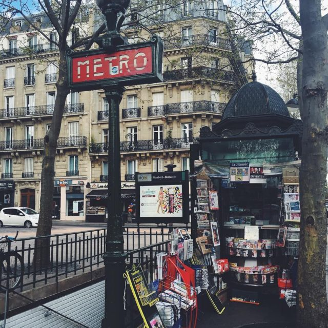 A Paris metro commute always comes with a dose ofhellip