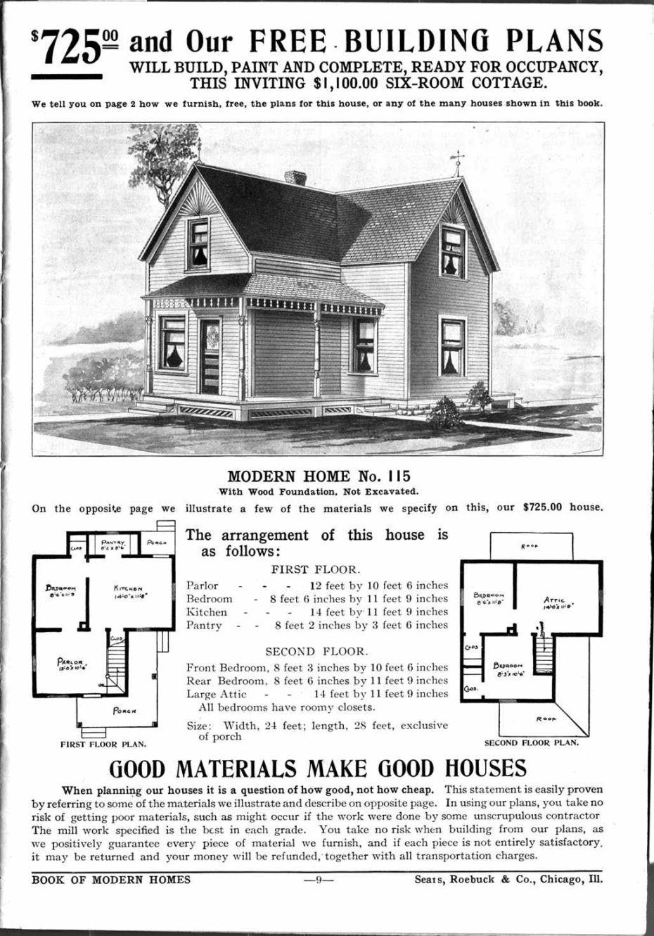 Remember when you could Mail Order an Entire House in a Giant DIY Kit?
