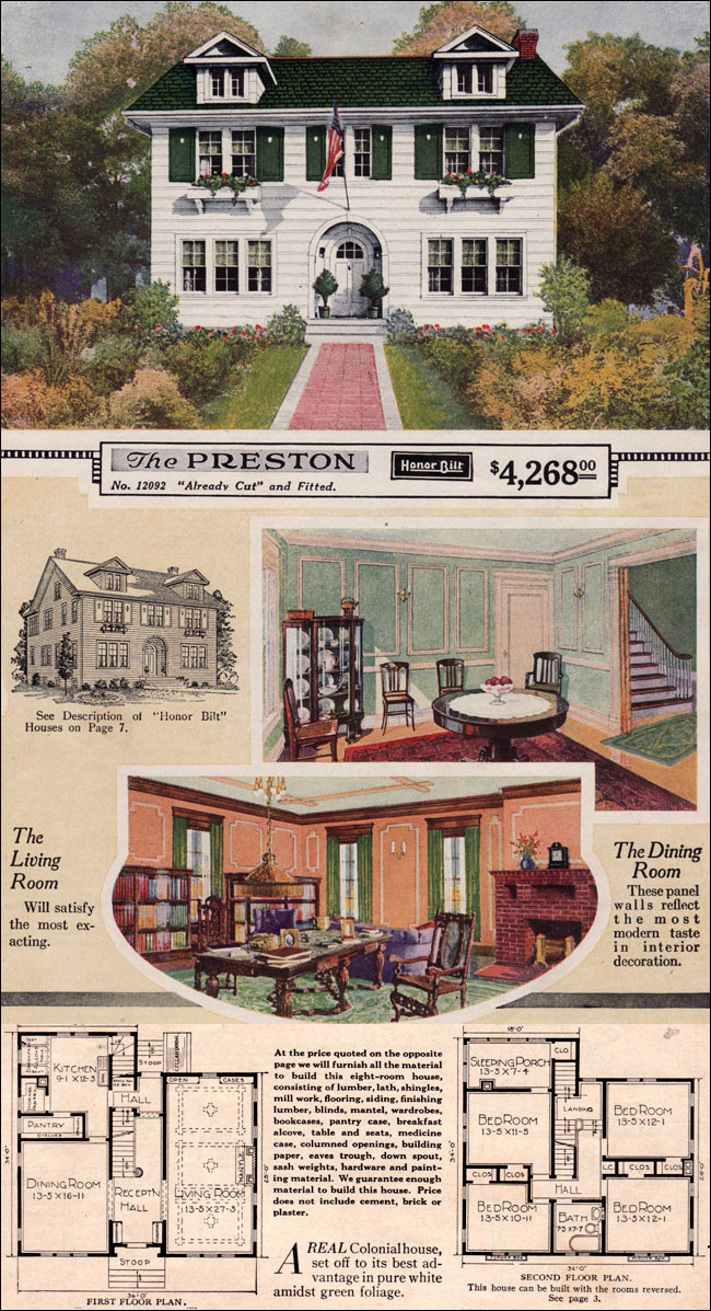Remember when you could mail order an entire house in a giant diy kit so heres how it worked sears had more than 370 different home designs in a wide range of architectural styles and sizes each design was assigned a solutioingenieria Choice Image
