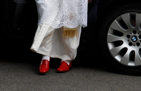 The Truth Behind the Pope's Ruby Red Slippers