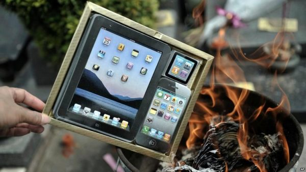 Burning iPhones and Designer Bags on China's Day of the Dead