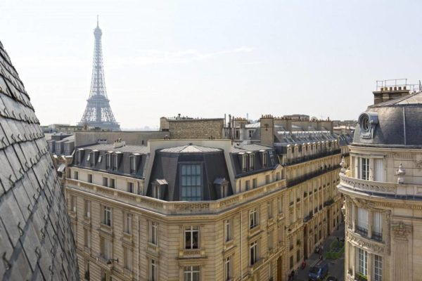 Conical Paris Rooftops & other Unusual Parisian Abodes For Sale