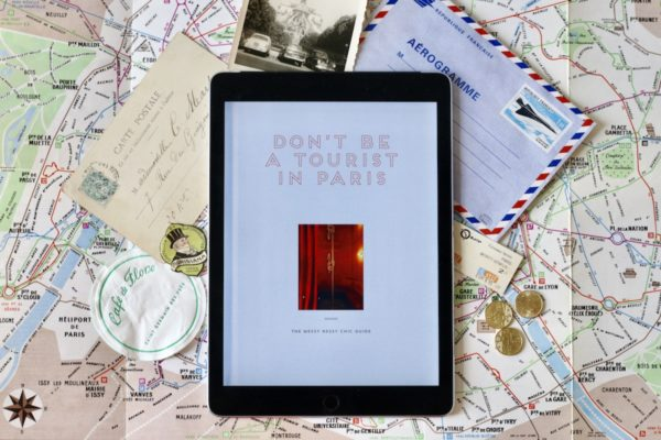 Don't be a Tourist in Paris: Now available as an eBook!