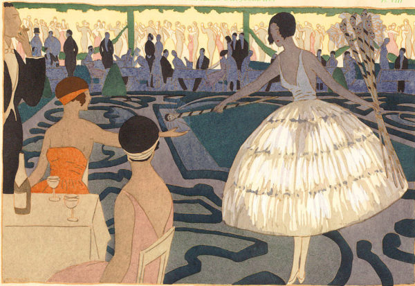 French Art Deco Dream Girls