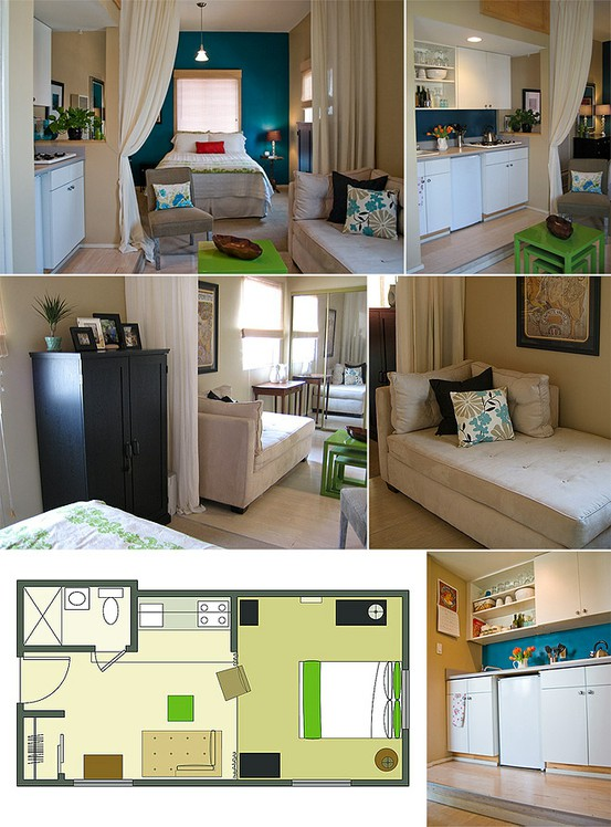 beautiful Studio Apartment Design Layout Part - 14: 8. How to do u0027long u0026 narrowu0027.