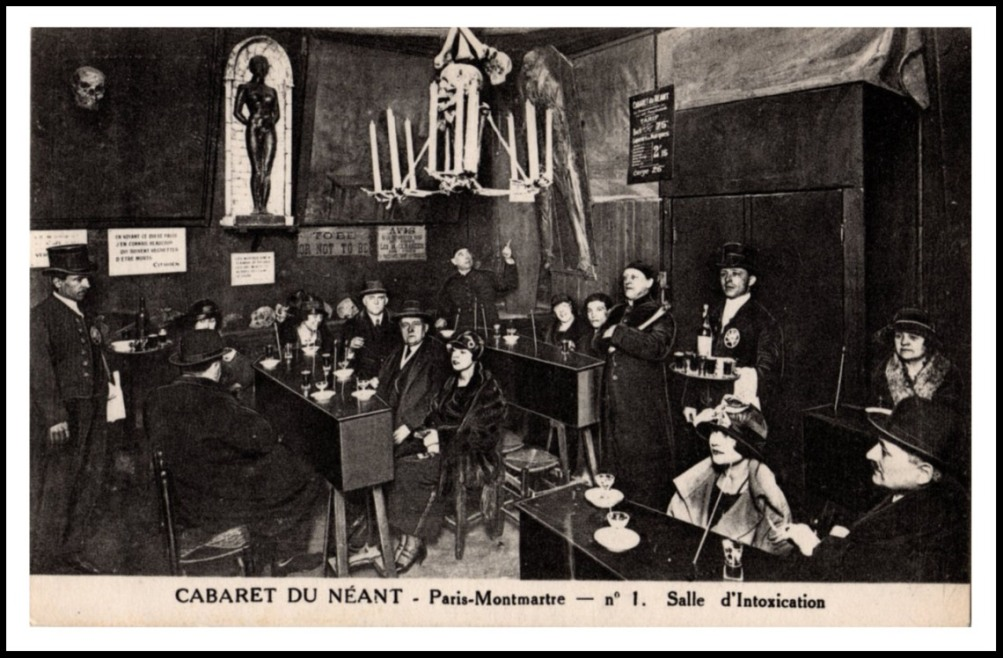 """Room of Intoxication"" at Cabaret du Neant"