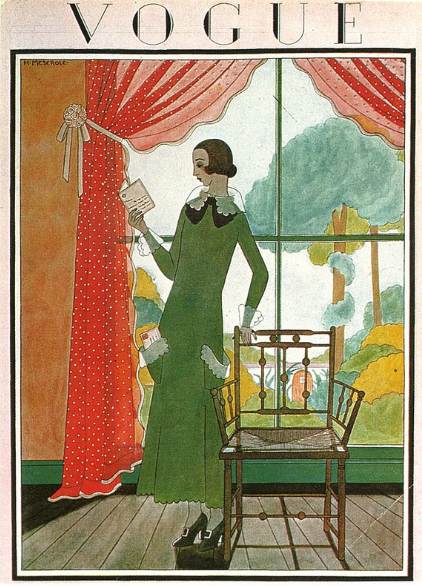 Before Photoshop Vogue Cover Illustrations