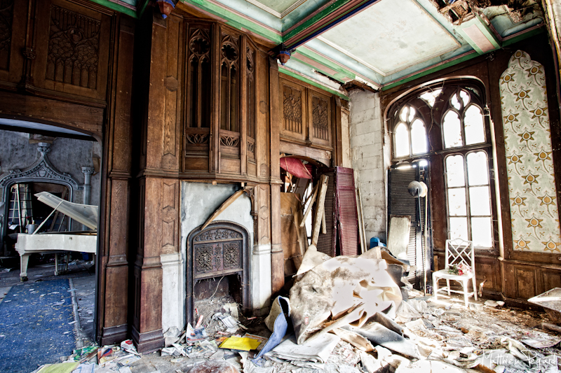 The Ill Fated Abandoned French Chateau Before Amp After
