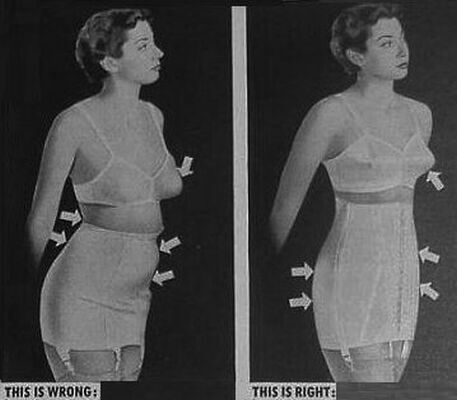 b9ba6aeb7 Vintage Spanx! Before   After