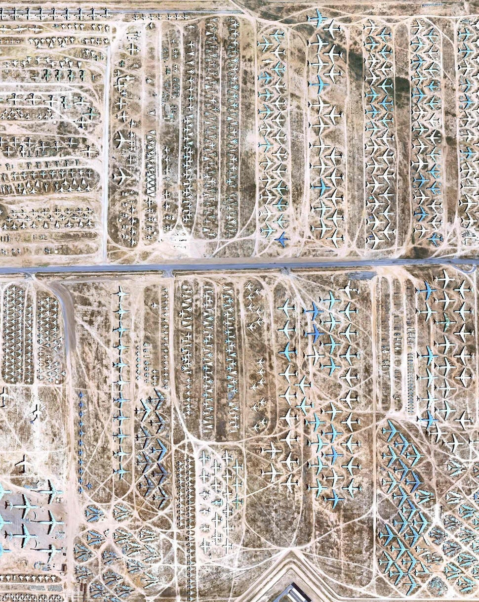 America's Boneyards: Where Airplanes go to Die