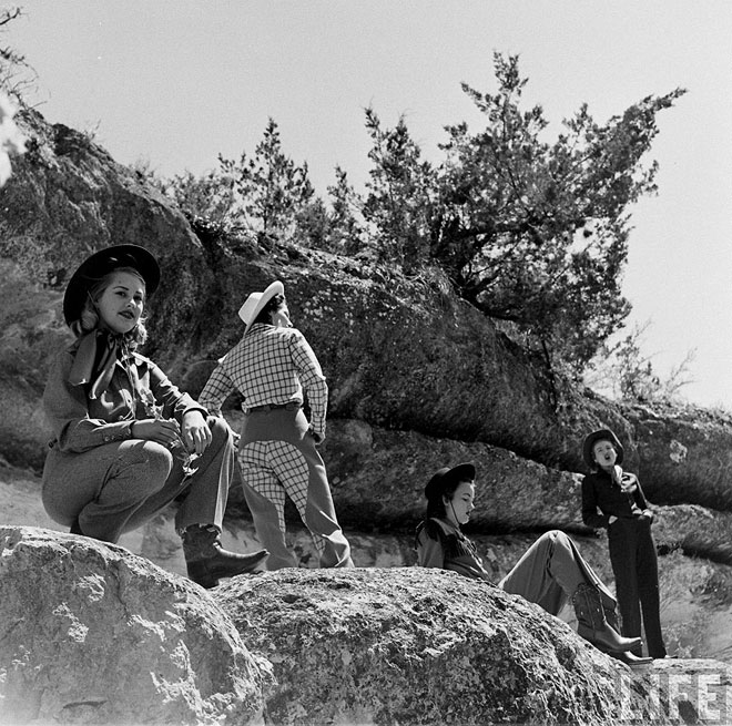 American Cowgirls Of The 1940s