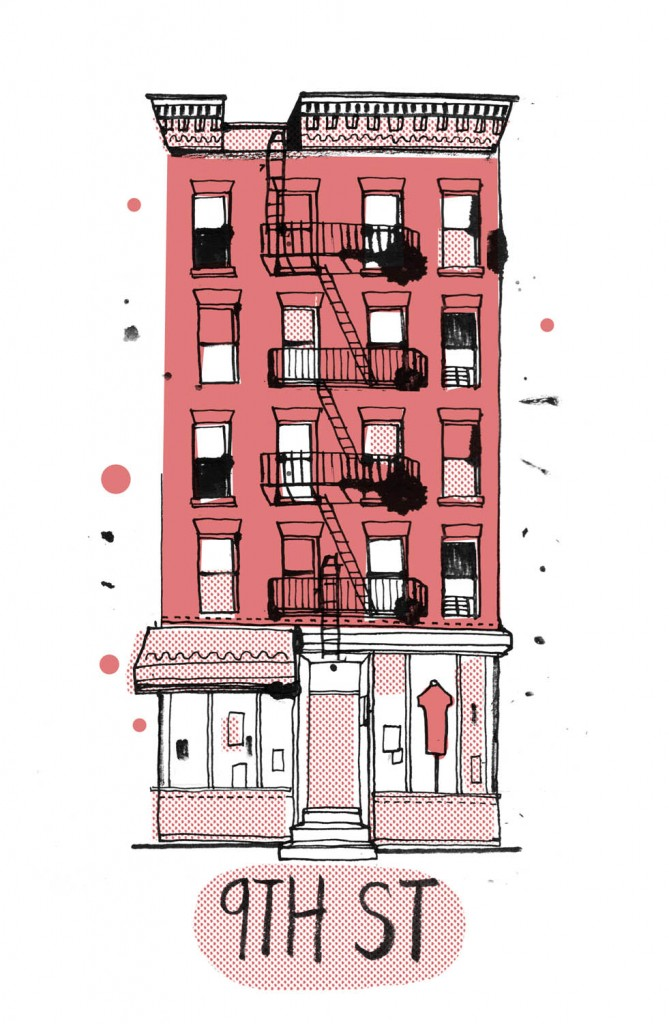 The Guy Who Drew All The Buildings In New York