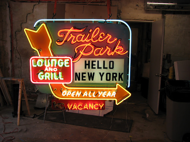 The Man who makes the Neon Signs