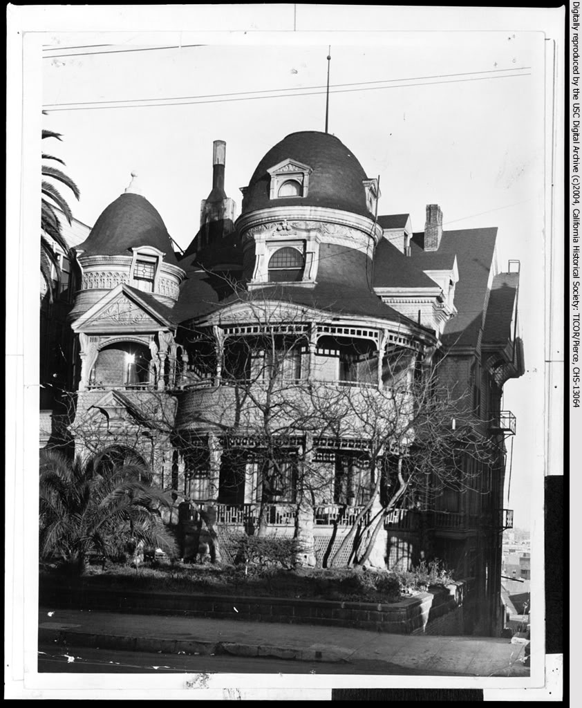 Homes In Los Angeles Ca: The Lost Victorian Mansions Of Downtown LA