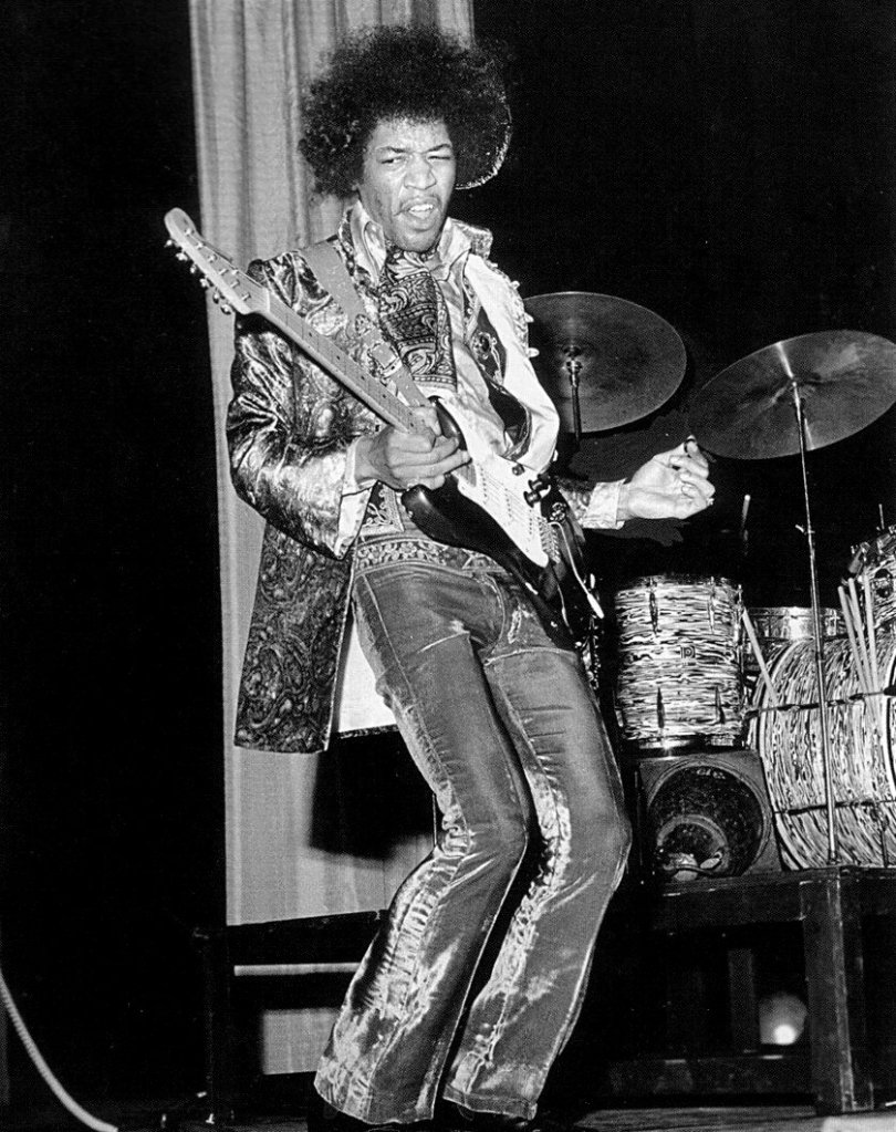 10 jimi hendrix looks to inspire an epic vintage shopping spree. Black Bedroom Furniture Sets. Home Design Ideas
