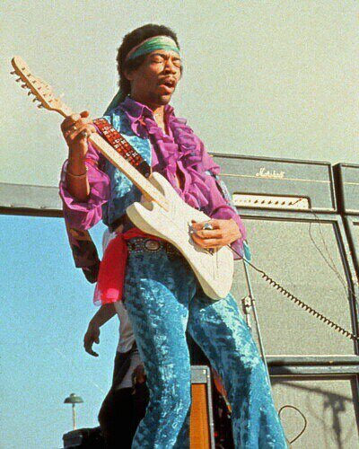 Jimi Hendrix At Monterey Pop Festival (1967) | Bored Panda