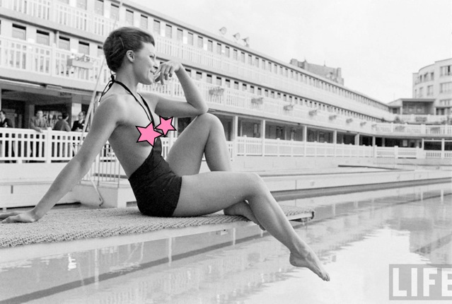 93c745edde1 The First Monokini: Trying to make the Topless Swimsuit happen in 1964