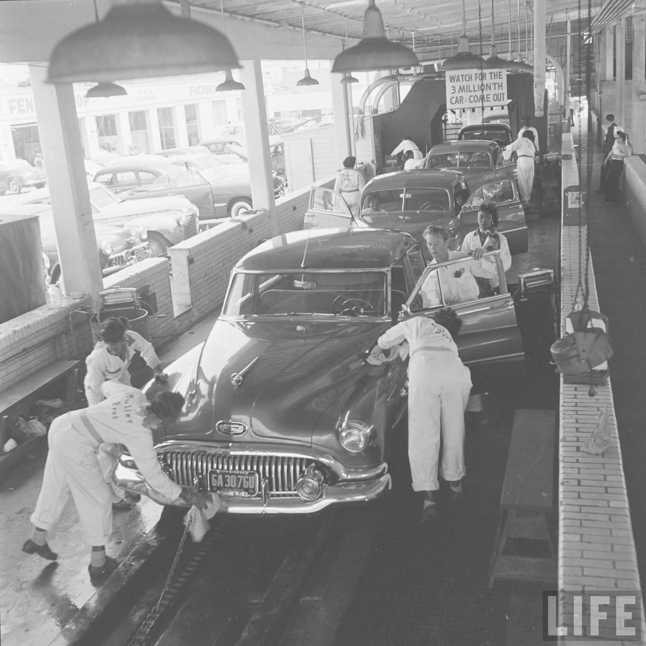 A Car Wash Beauty Pageant, 1951