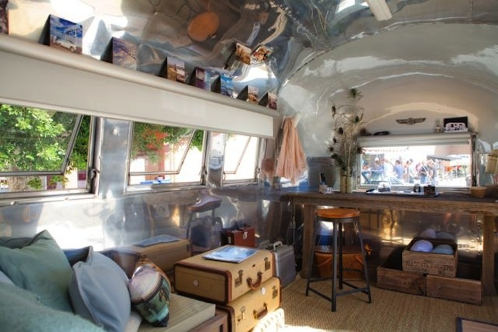 The airstream trailers vintage